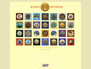 bysonbuttons.com screenshot