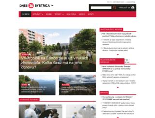 bystrica24.sk screenshot