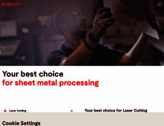bystronic.com screenshot