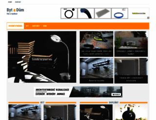 byt-a-dum.cz screenshot