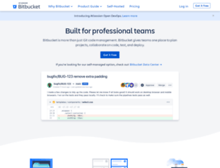 bytebucket.org screenshot