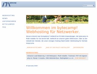 bytecamp.net screenshot