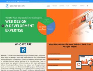 bytecode.com.bd screenshot