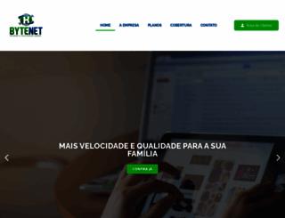 bytenet.com.br screenshot