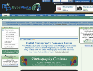 bytephoto.com screenshot