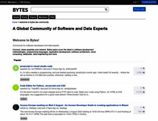 bytes.com screenshot