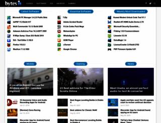 bytesin.com screenshot