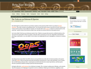 bytesizebio.net screenshot