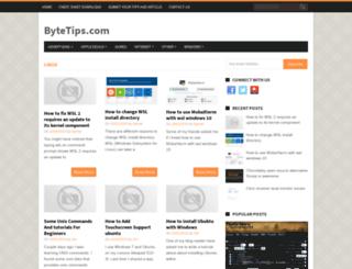 bytetips.com screenshot