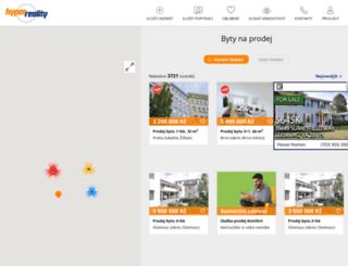 byty-k-prodeji.hyperreality.cz screenshot