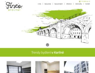 byty-karlin.cz screenshot