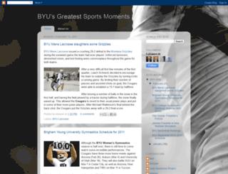 byugreatsportsmoments.blogspot.com screenshot