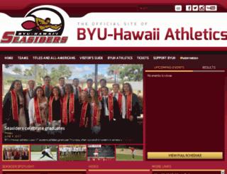 byuhawaiisports.com screenshot