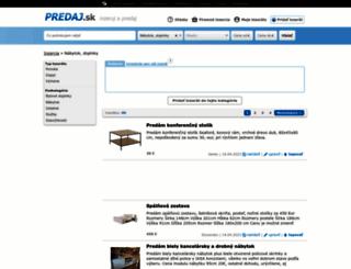 byvanie.predaj.sk screenshot