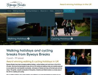 byways-breaks.co.uk screenshot