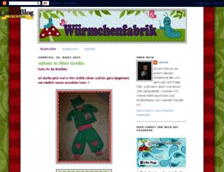 bywuermchenfabrik.blogspot.com screenshot