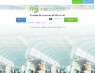 bz.mercadojobs.com screenshot