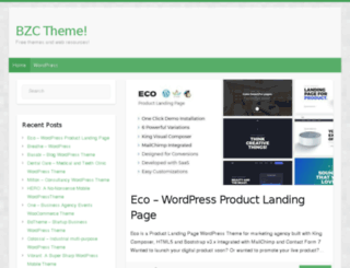 bzctheme.com screenshot