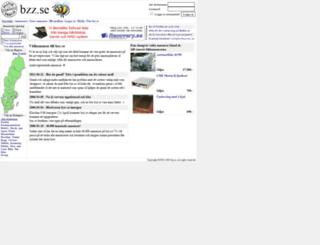 bzz.se screenshot