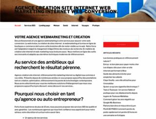 c-agence-web.com screenshot
