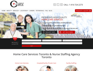 c-care.ca screenshot