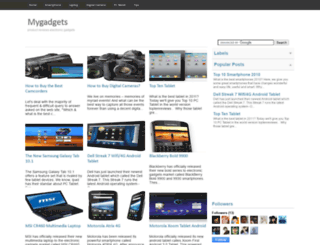 c-mygadget.blogspot.com screenshot