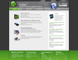 c-stan.fr screenshot