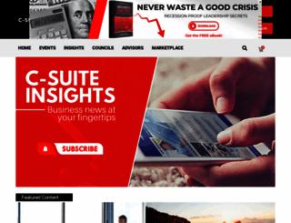 c-suitenetwork.com screenshot