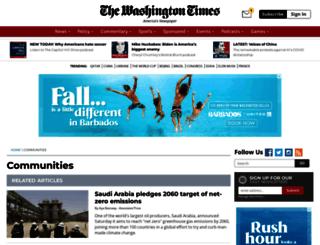 c.washingtontimes.com screenshot