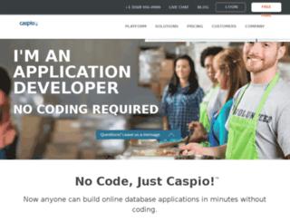 c0eku099.caspio.com screenshot