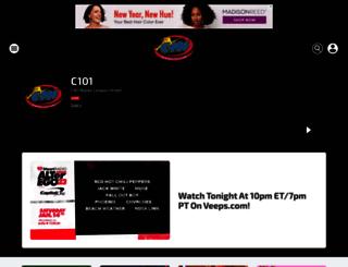 c101.iheart.com screenshot