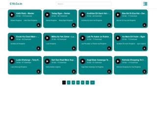 c18.co.in screenshot