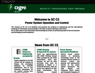 c2.cigre.org screenshot
