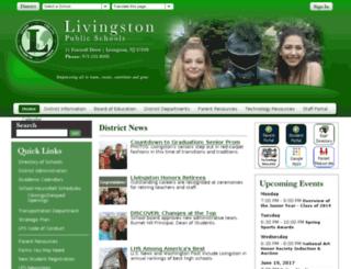 c2.livingstonps.schoolwires.net screenshot
