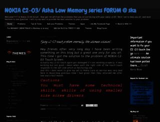 c203forum.blogspot.in screenshot