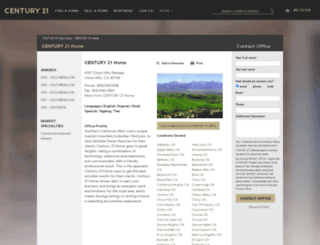 c21homesforyou.com screenshot