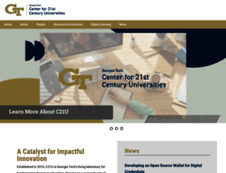 c21u.gatech.edu screenshot