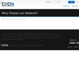 c2cclicks.com screenshot