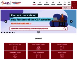 c3a.org.sg screenshot