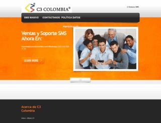 c3colombia.com screenshot