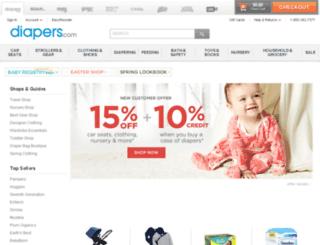 c4.diapers.com screenshot
