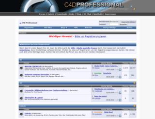 c4d-professional.net screenshot