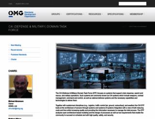 c4i.omg.org screenshot