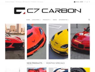 c7carbon.com screenshot