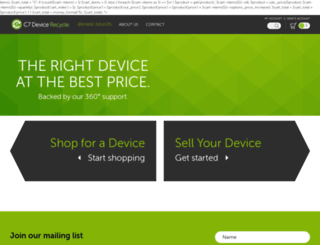 c7recycle.com screenshot