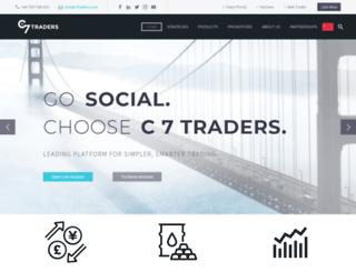 c7traders.com screenshot