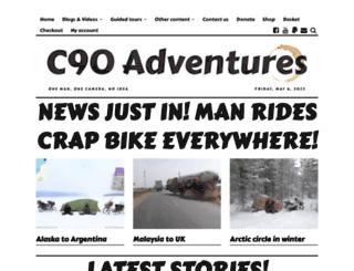c90adventures.co.uk screenshot