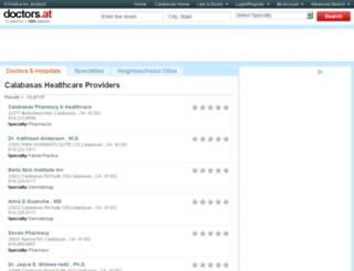 ca-calabasas.doctors.at screenshot