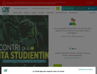 ca-corse.fr screenshot