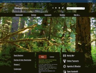 ca-humboldtcounty.civicplus.com screenshot